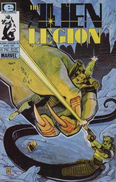 Alien Legion Vol 1 19