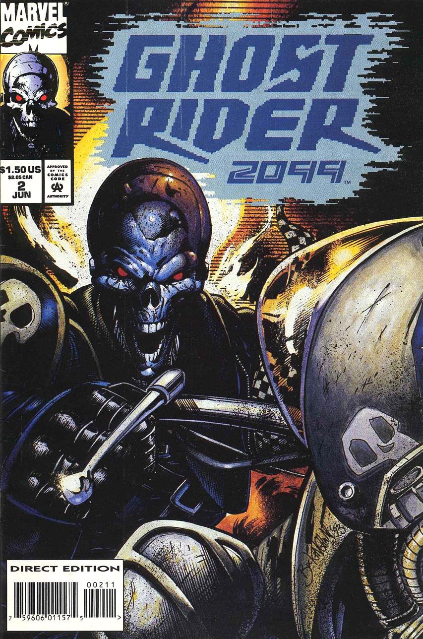 Ghost Rider 2099 Vol 1 2