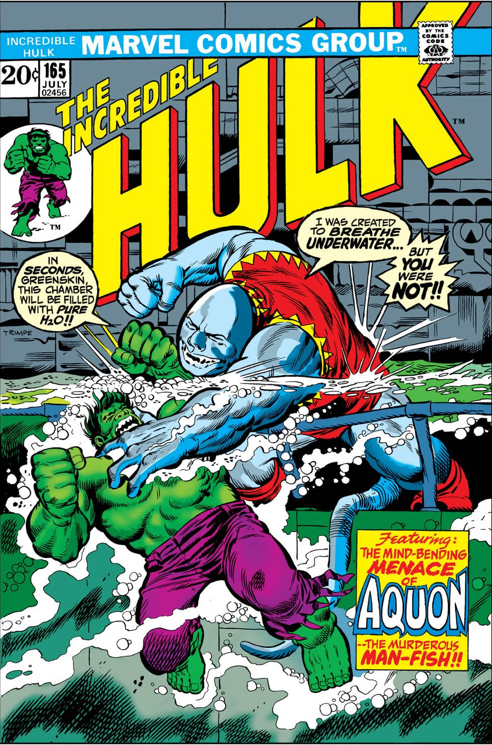 Incredible Hulk Vol 1 165
