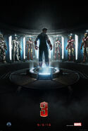 Iron Man 3 (film) teaser poster