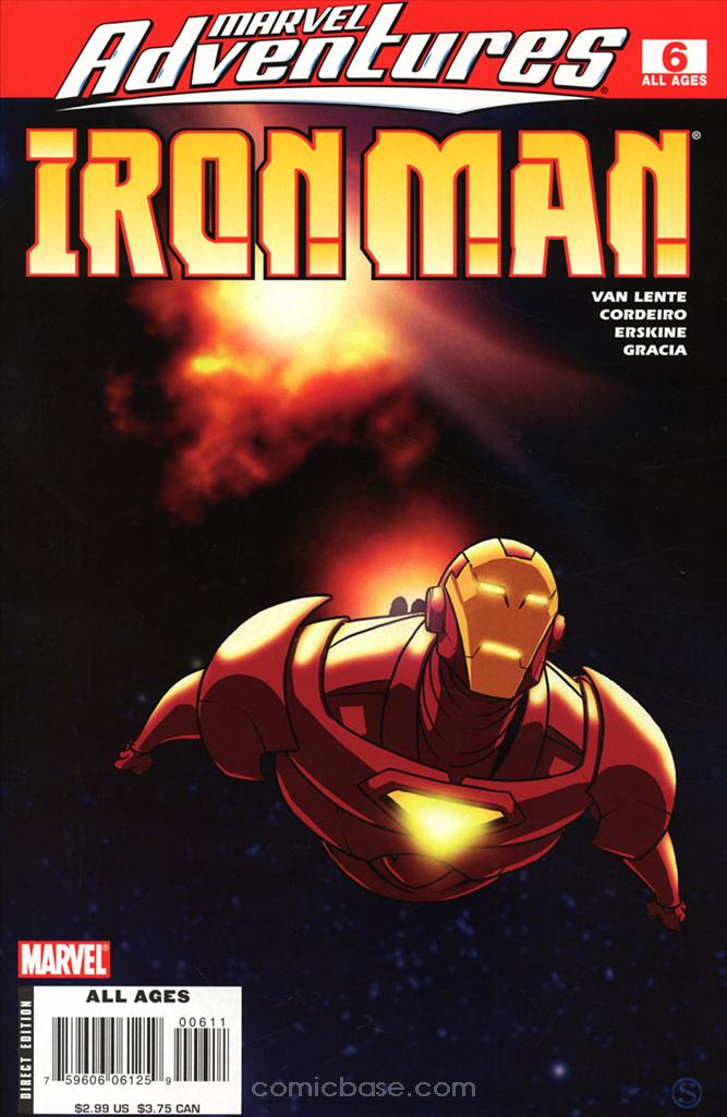 Marvel Adventures: Iron Man Vol 1 6