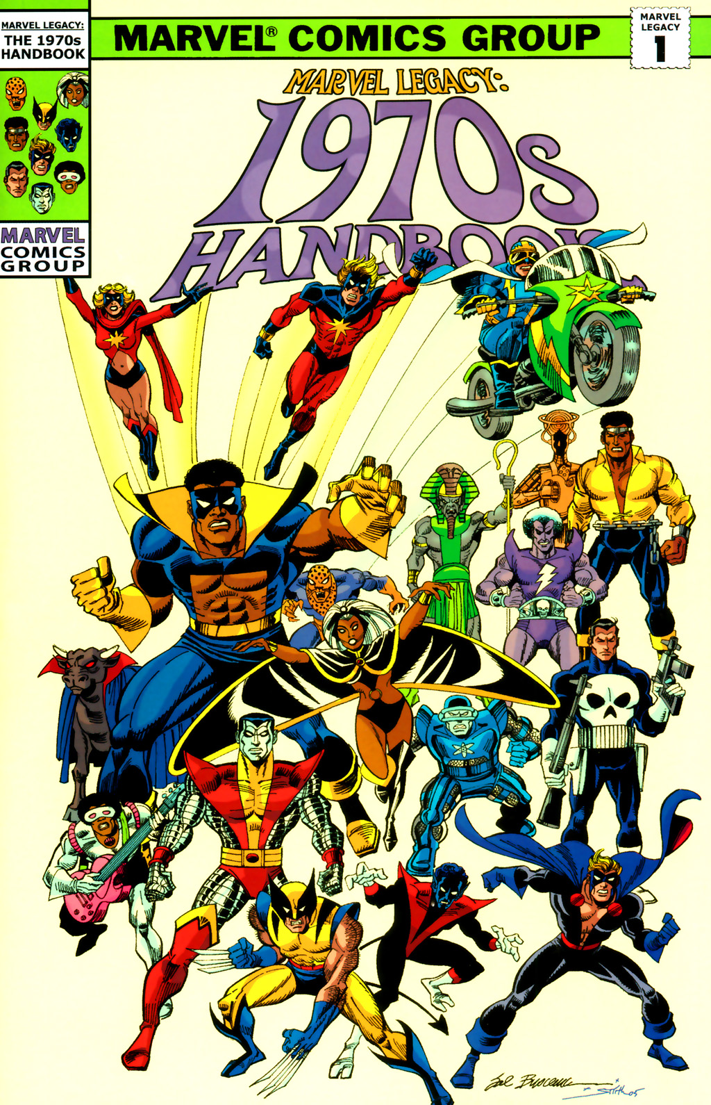 Marvel Legacy: The 1970s Handbook Vol 1