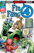 Marvel Monsters Fin Fang Four Vol 1 1