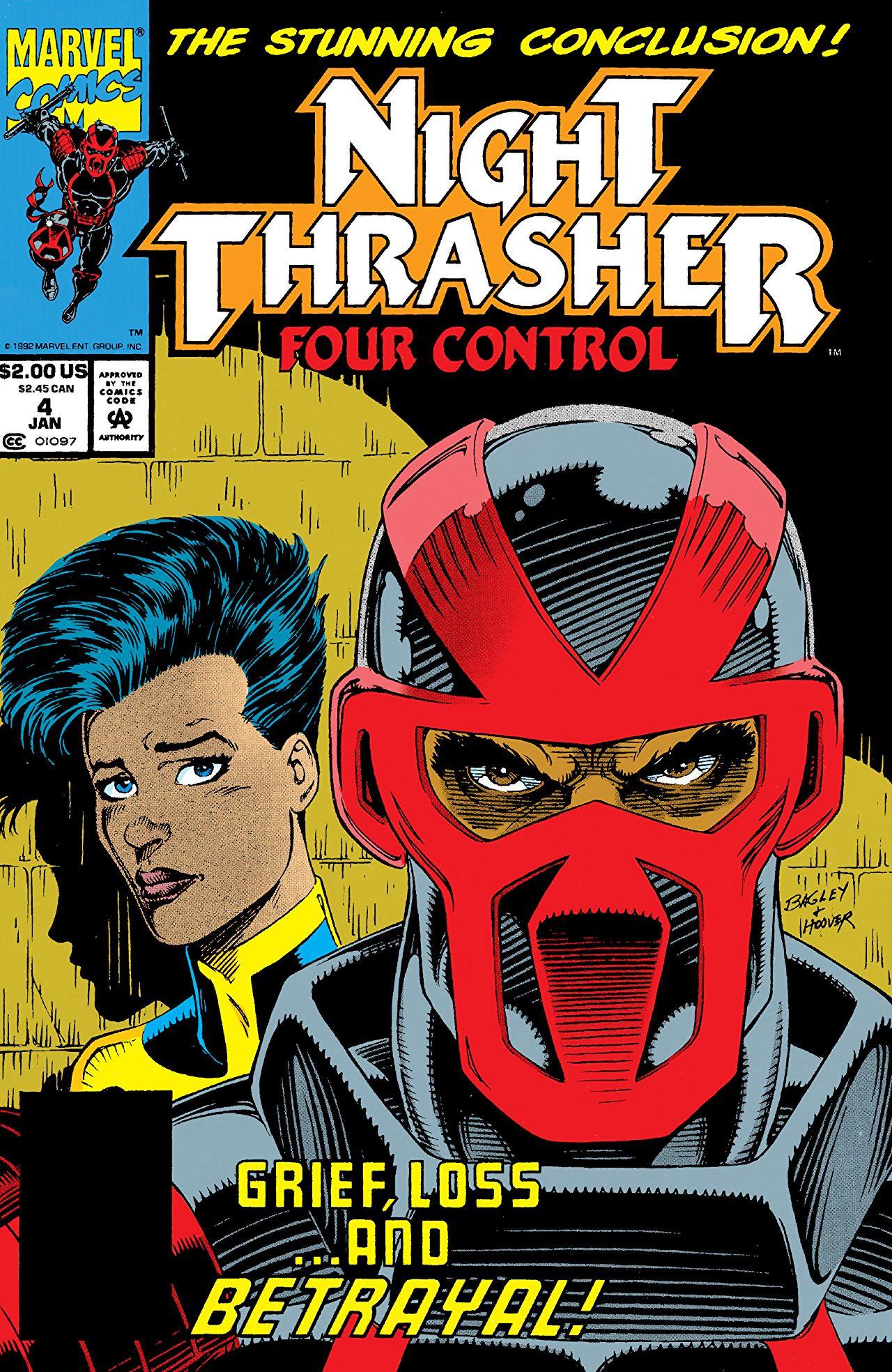Night Thrasher: Four Control Vol 1 4