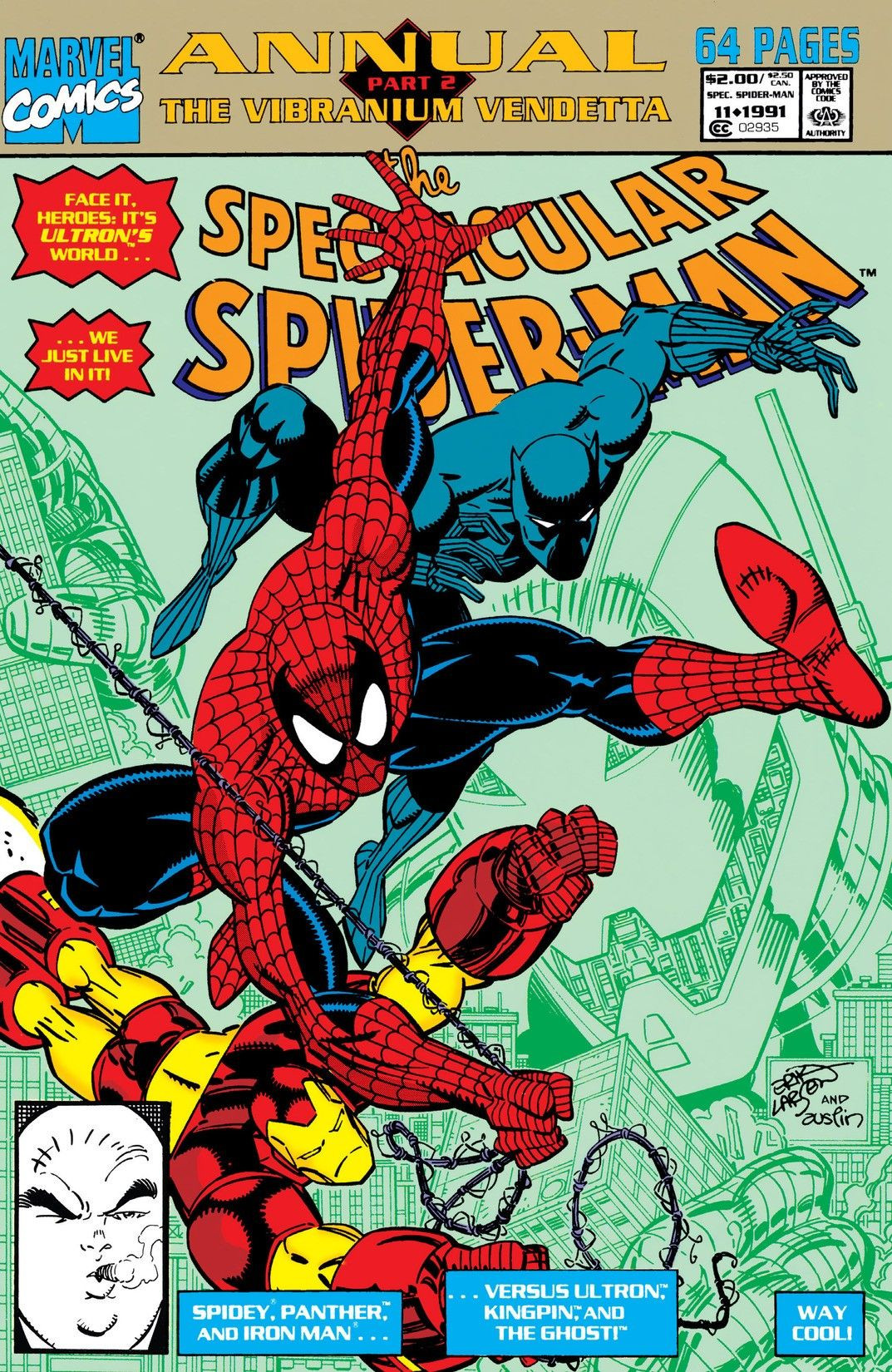 Spectacular Spider-Man Annual Vol 1 11