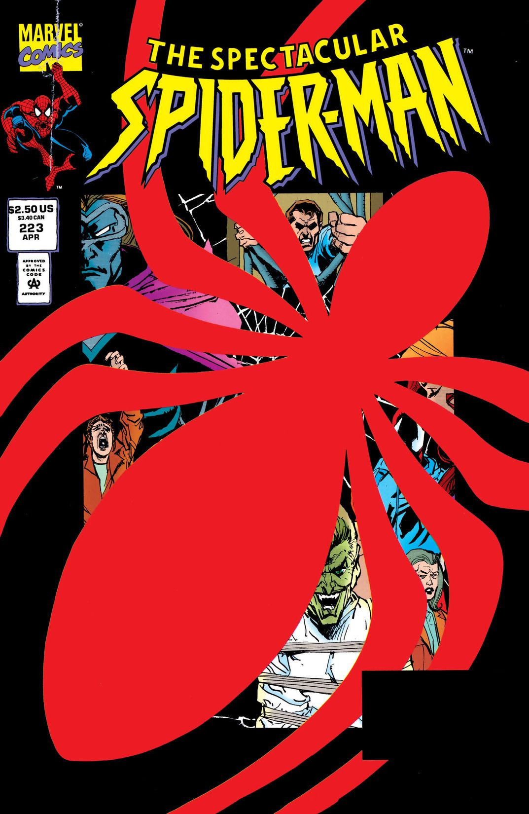 Spectacular Spider-Man Vol 1 223