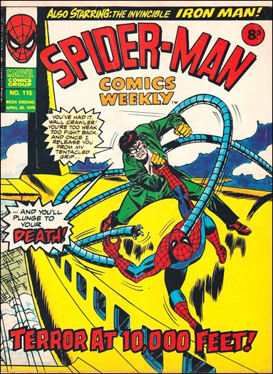 Spider-Man Comics Weekly Vol 1 115