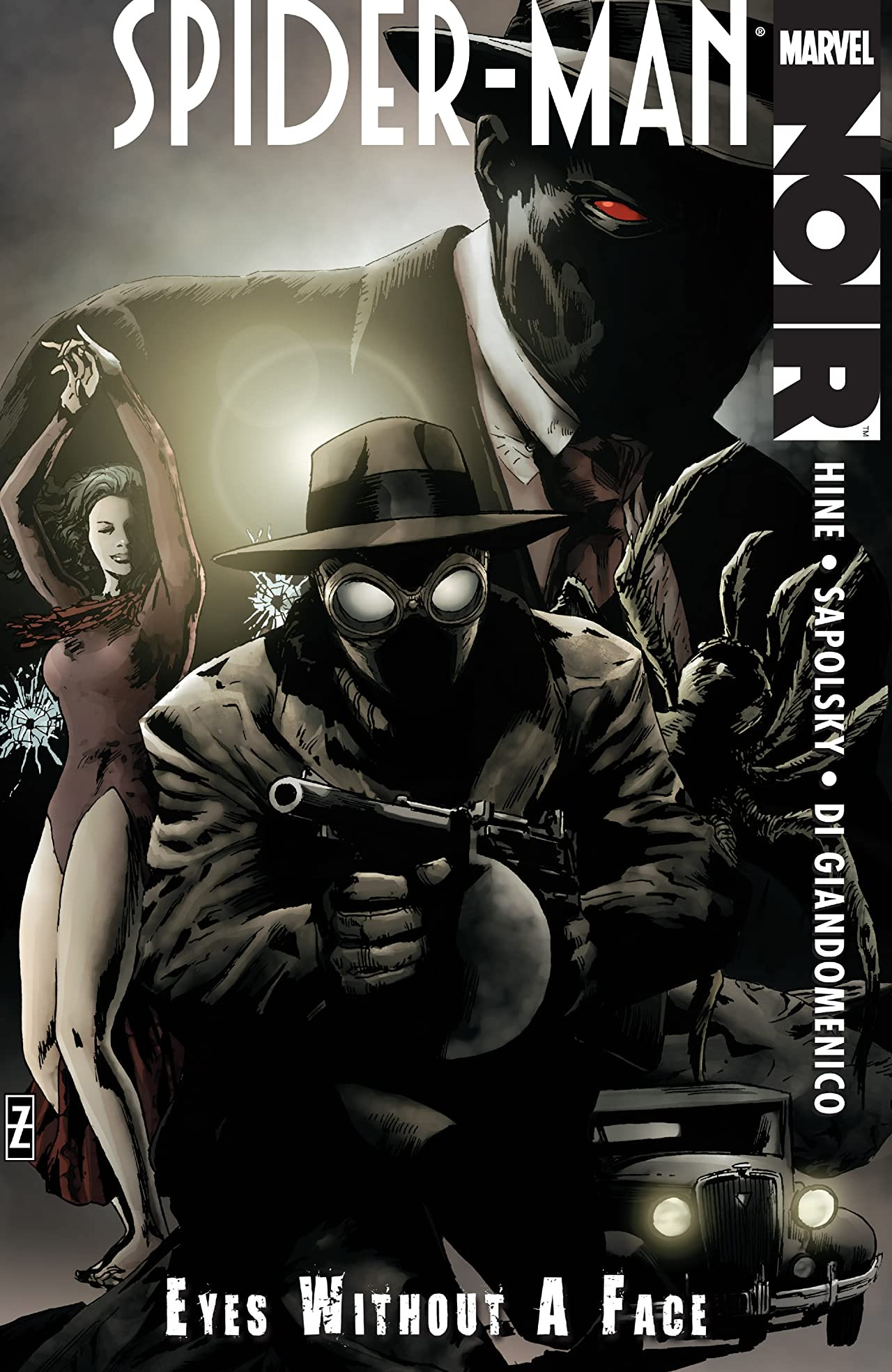 Spider-Man Noir: Eyes Without a Face TPB Vol 1 1
