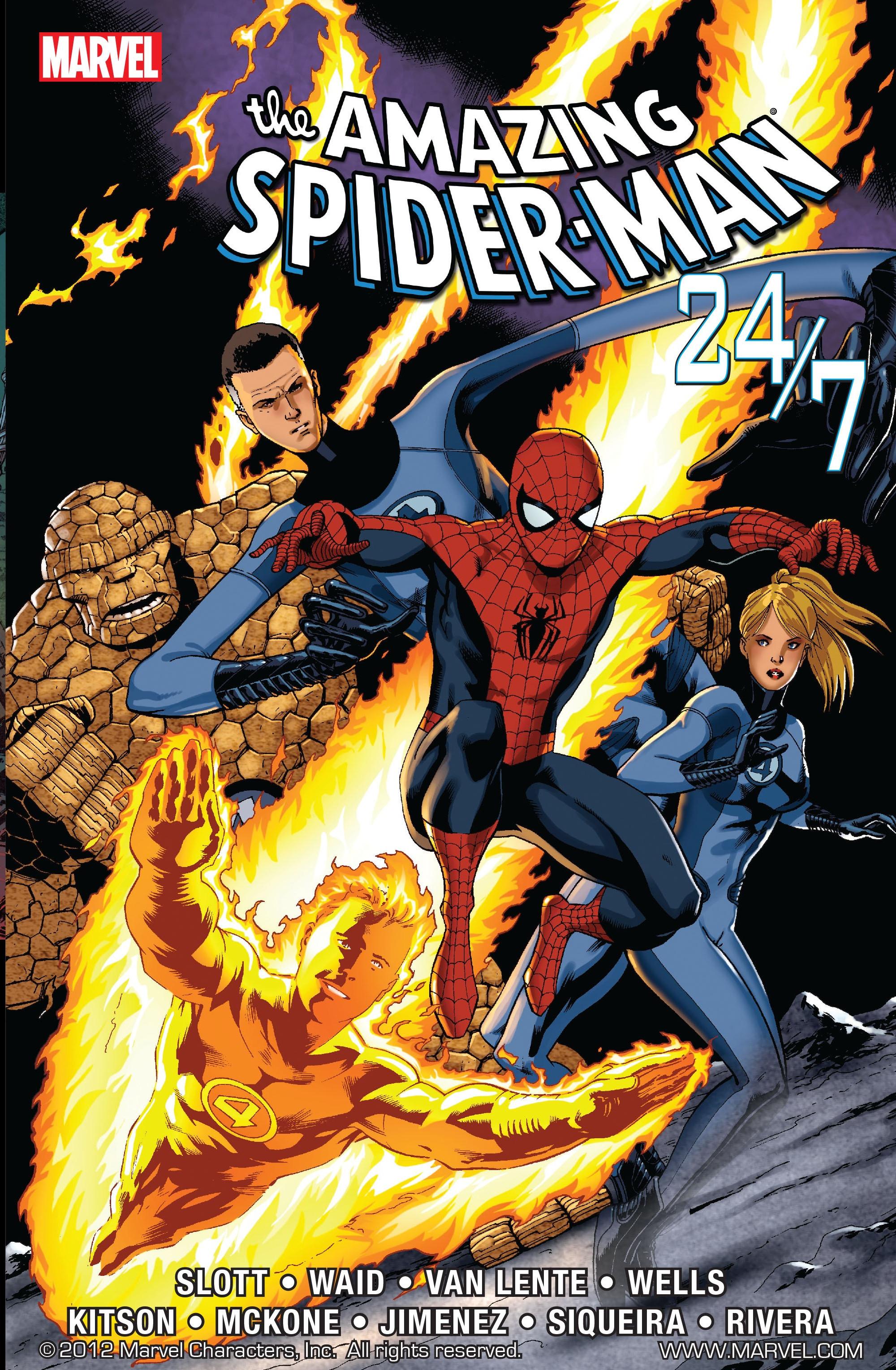 Amazing Spider-Man 24/7 TPB Vol 1