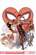 Amazing Spider-Man Vol 1 620 Deadpool Variant Textless