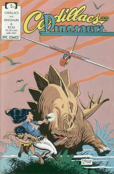 Cadillacs and Dinosaurs Vol 1 6