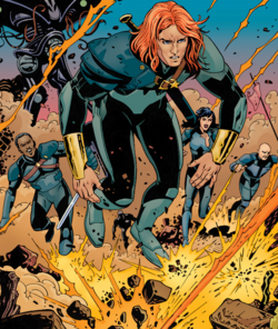 Killraven's Freemen (Earth-691) from All-New Invaders Vol 1 12 001.png