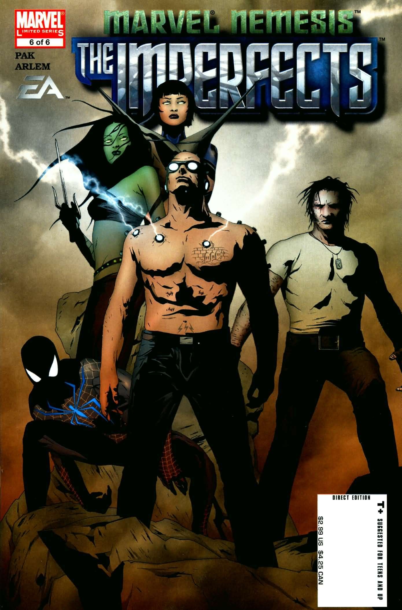 Marvel Nemesis: The Imperfects Vol 1 6