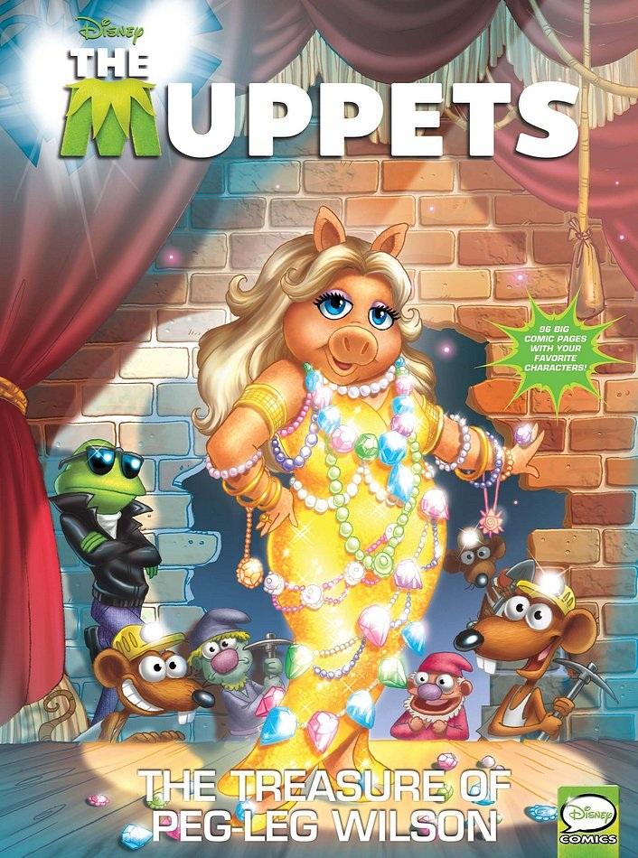 Muppets Presents: The Treasure of Peg-Leg Wilson Vol 1 1