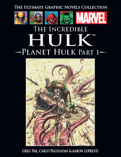 Official Marvel Graphic Novel Collection Vol 1 45