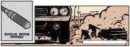 Smoke Bomb Arrow from Hawkeye Vol 4 3 001