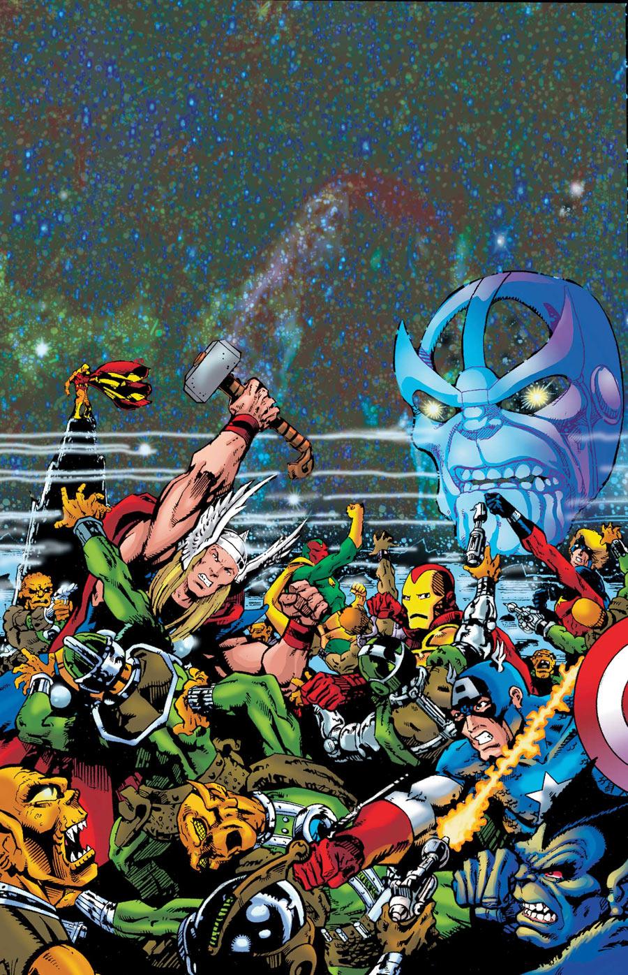 Thanos: The Final Threat Vol 1 1