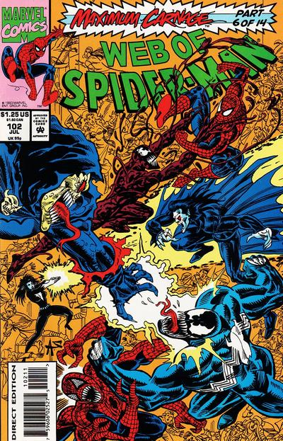 Web of Spider-Man Vol 1 102
