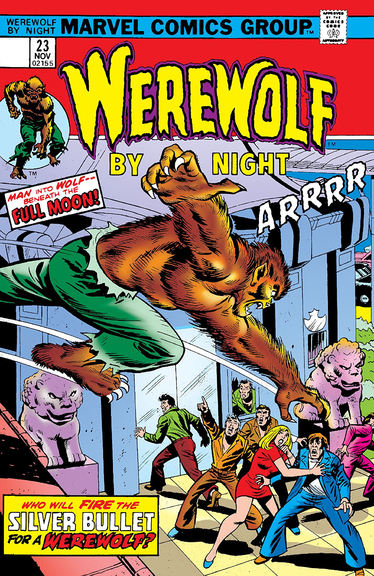 Werewolf by Night Vol 1 23