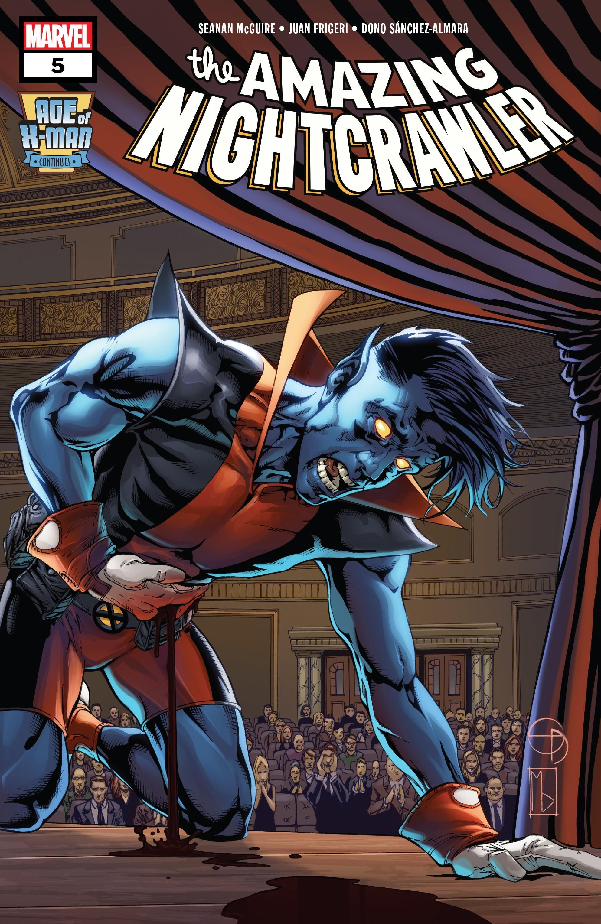 Age of X-Man: The Amazing Nightcrawler Vol 1 5