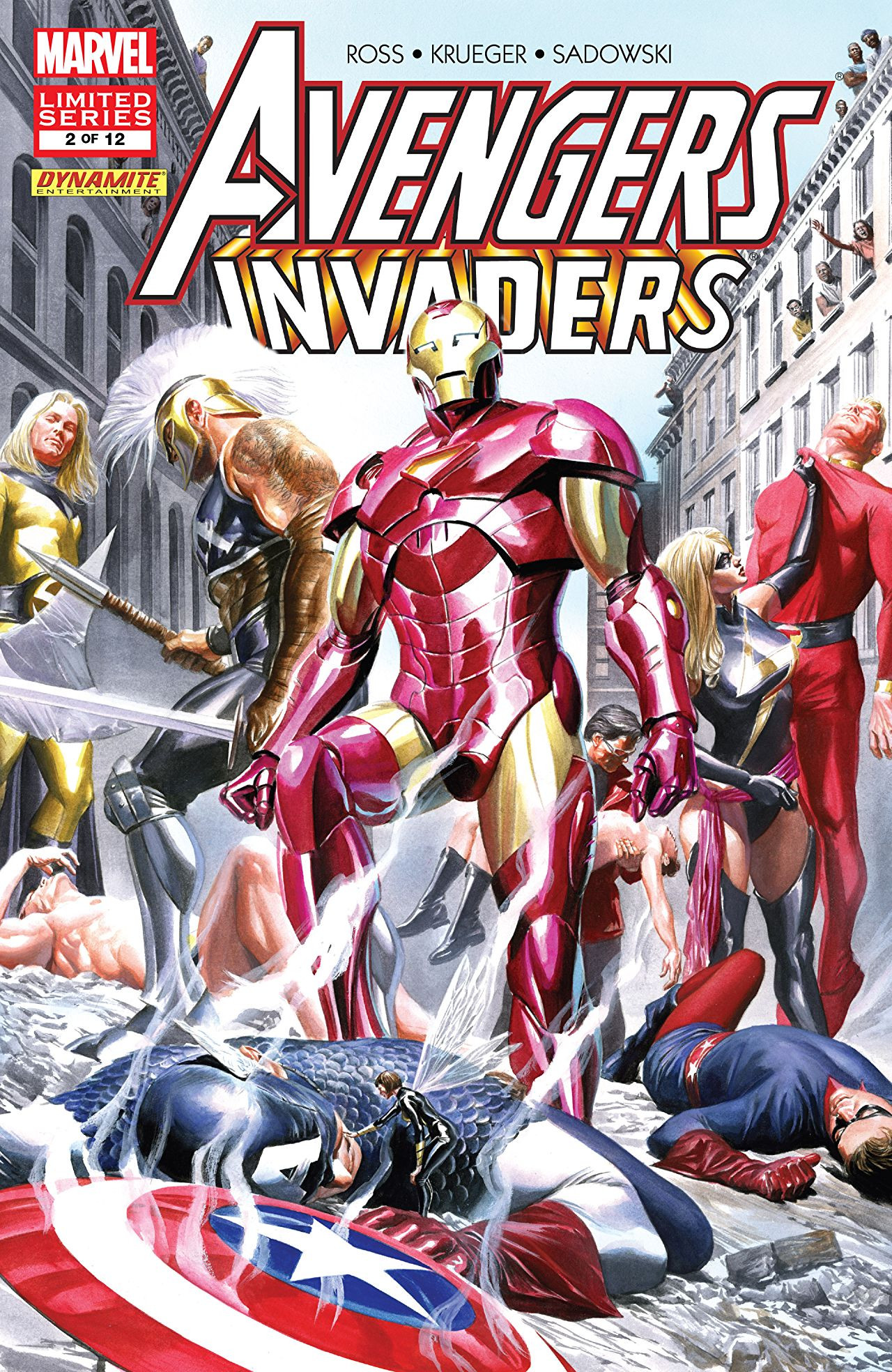 Avengers / Invaders Vol 1 2