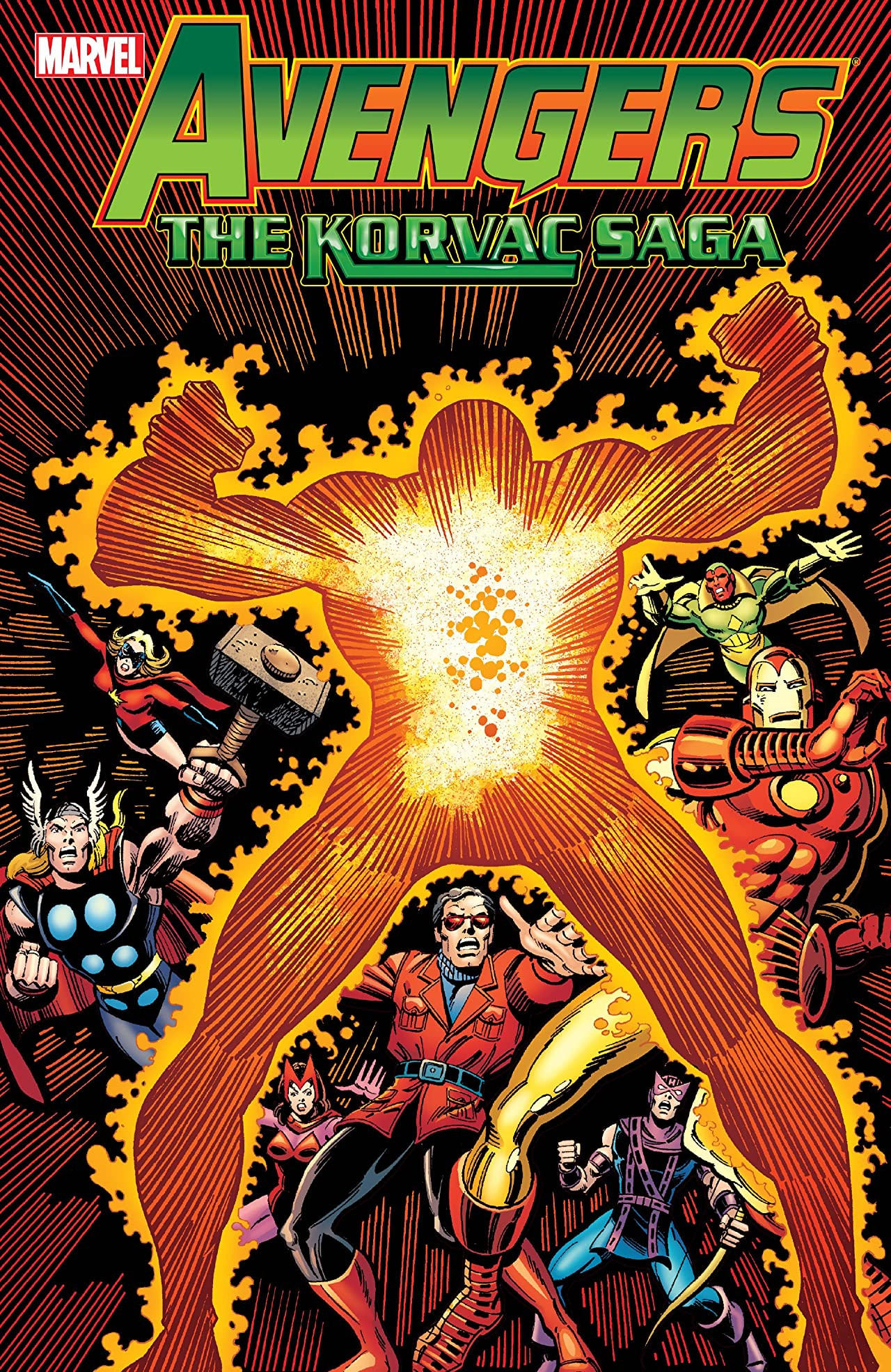 Avengers: The Korvac Saga TPB Vol 1