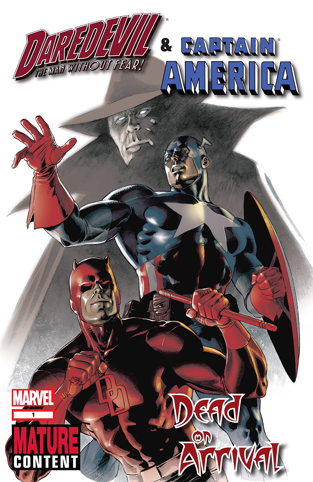 Daredevil & Captain America: Dead on Arrival Vol 1 1