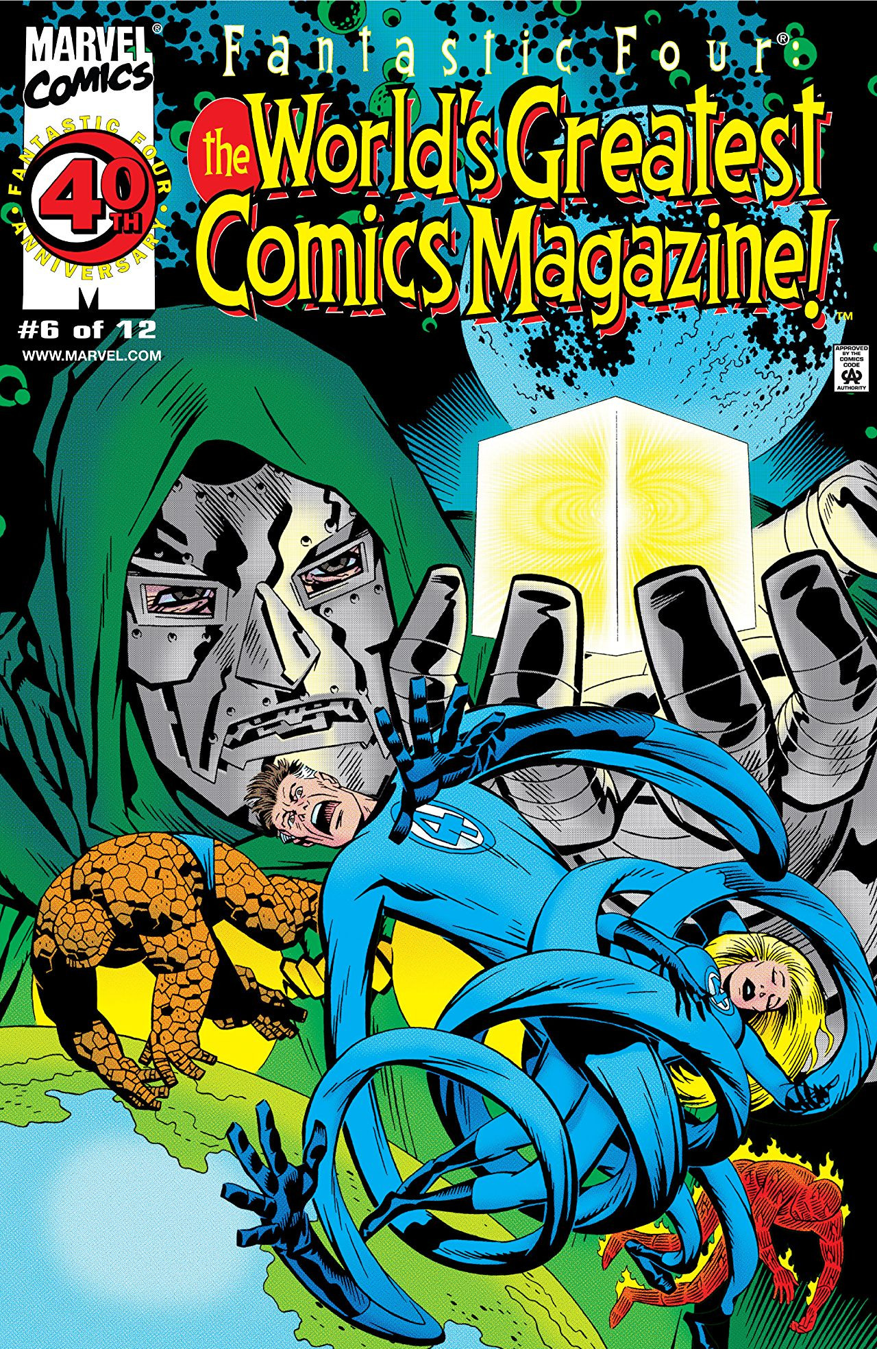 Fantastic Four: World's Greatest Comics Magazine Vol 1 6