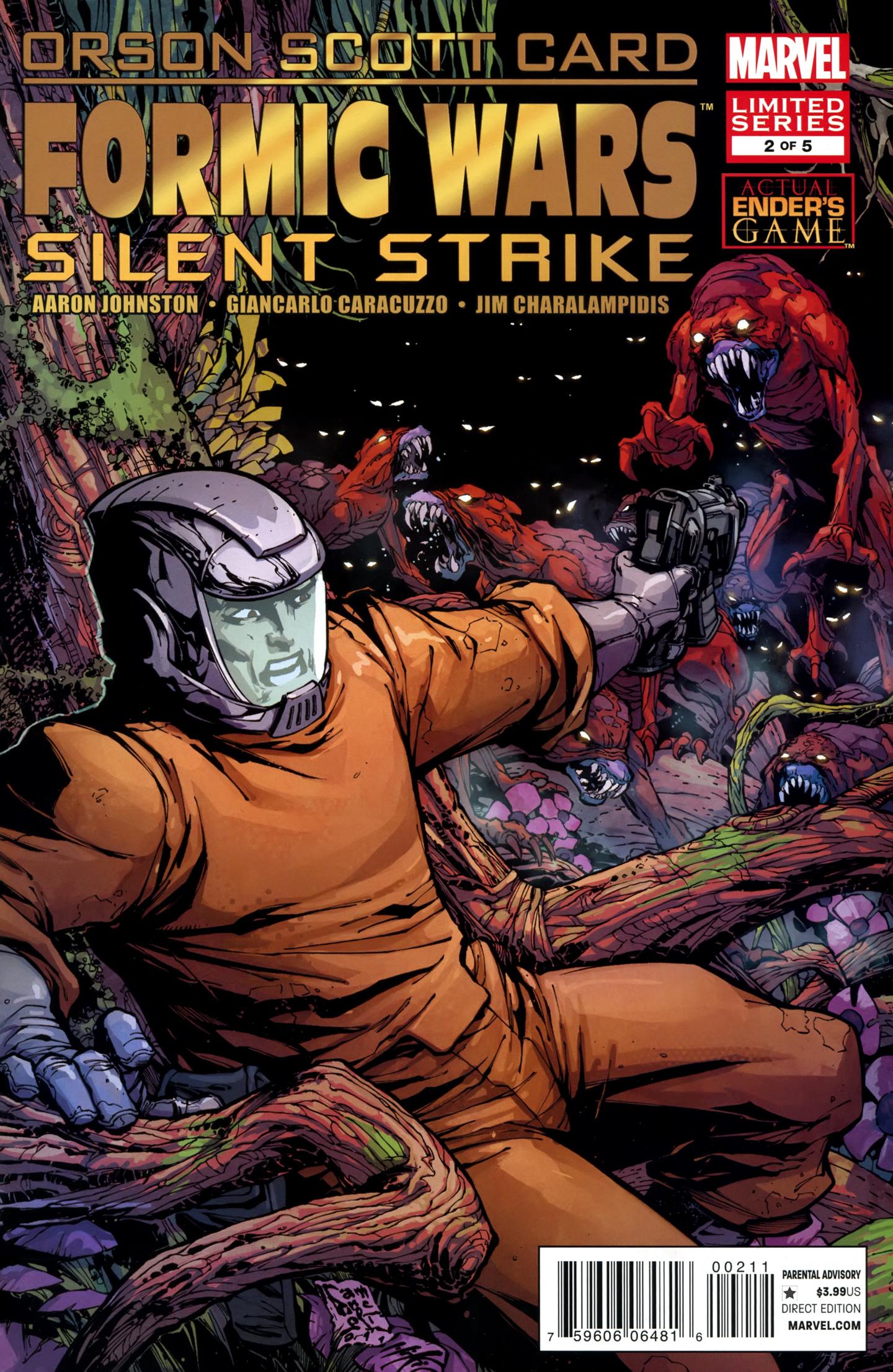 Formic Wars: Silent Strike Vol 1 2