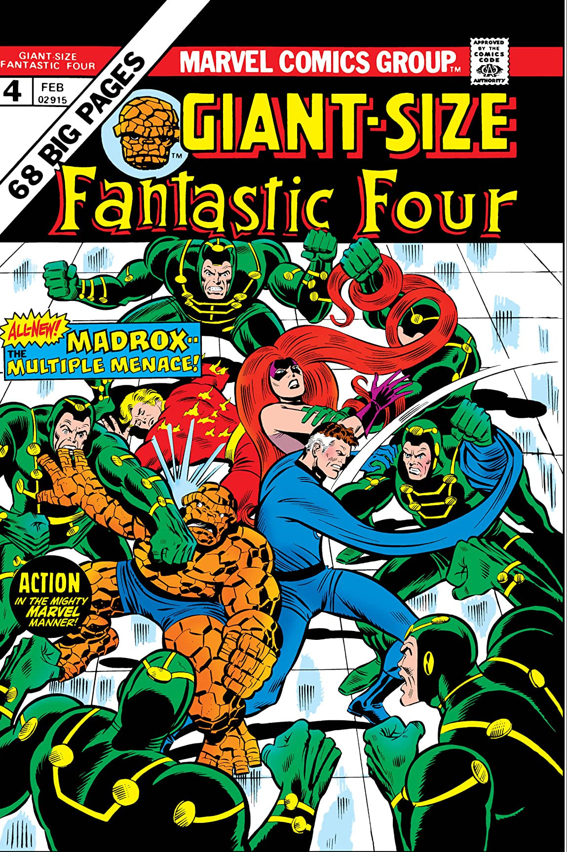 Giant-Size Fantastic Four Vol 1 4