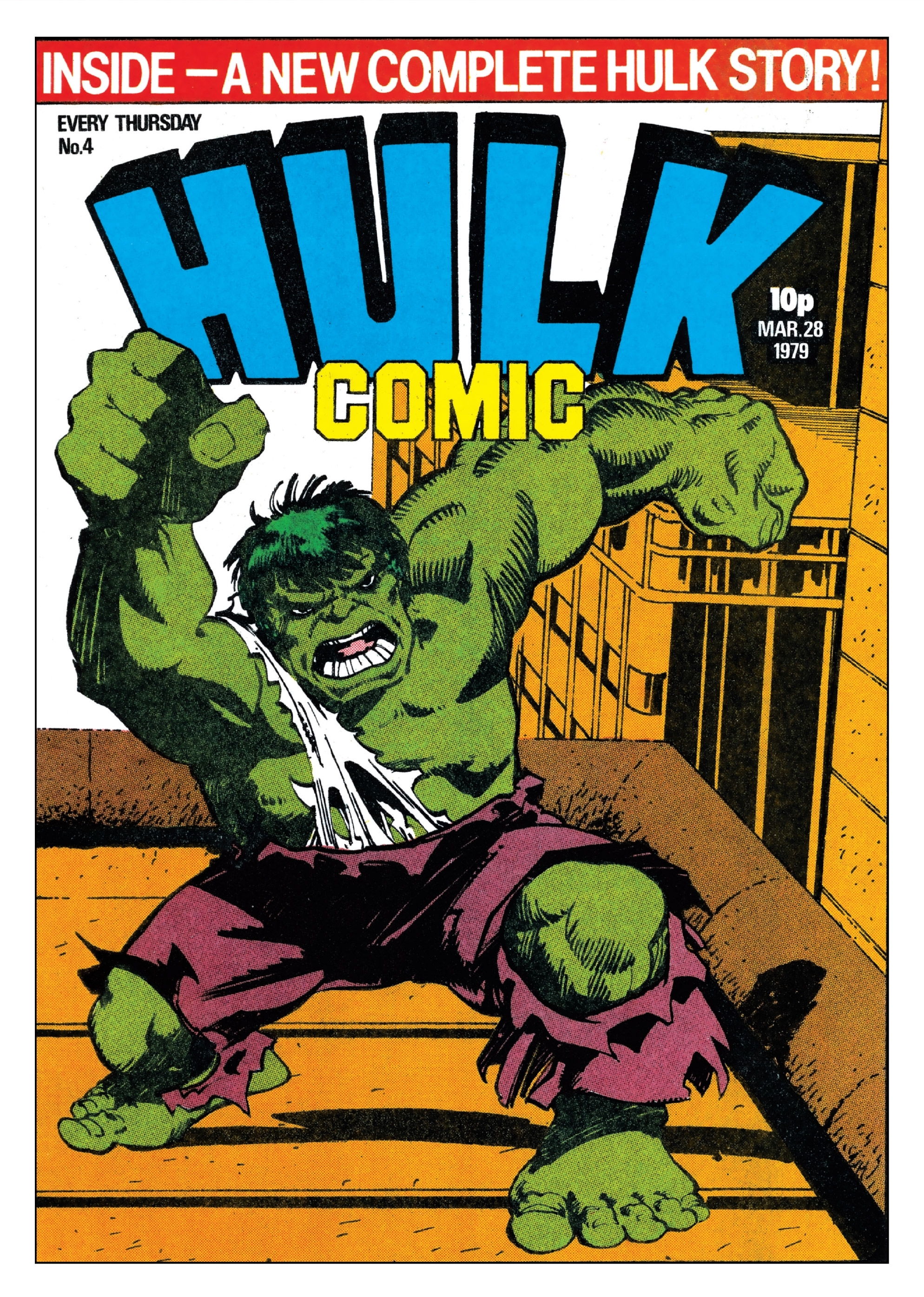 Hulk Comic (UK) Vol 1 4