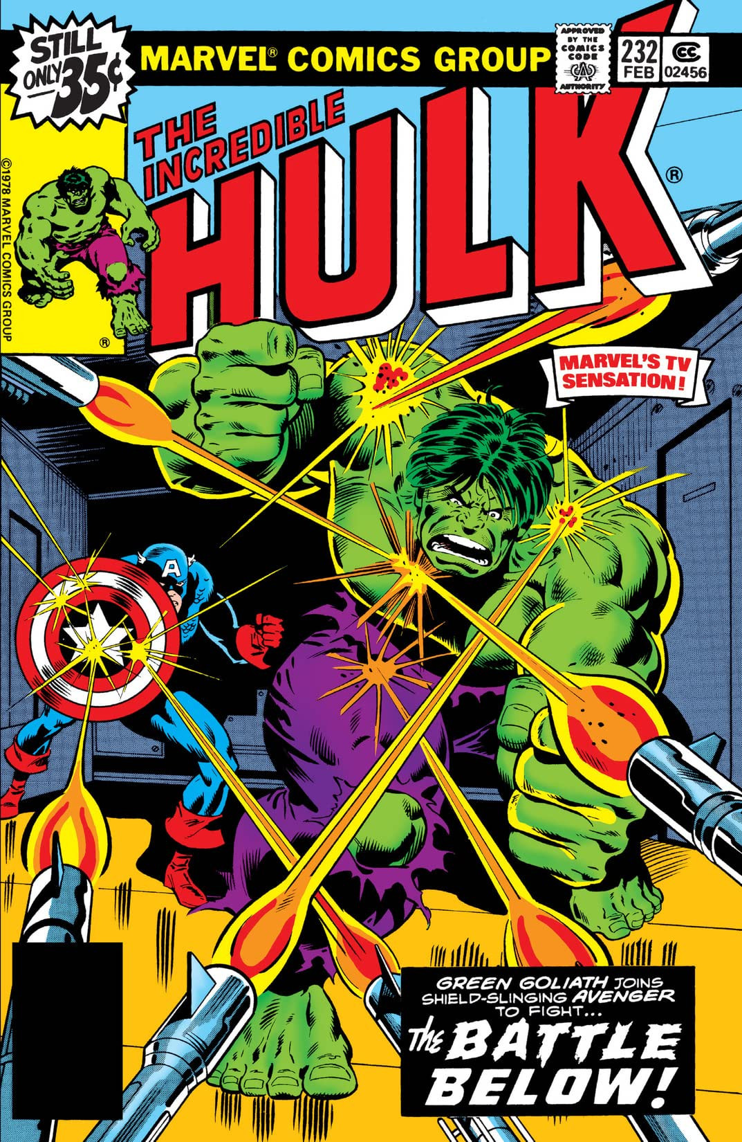 Incredible Hulk Vol 1 232