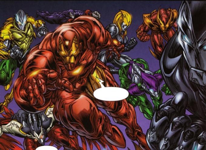 Iron Avengers (Earth-9021)