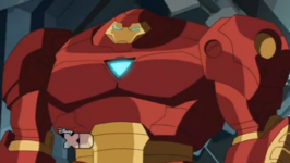 Iron Man Armor MK XIII (Earth-12041)
