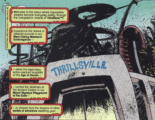 Thrillsville (Earth-928)/Gallery