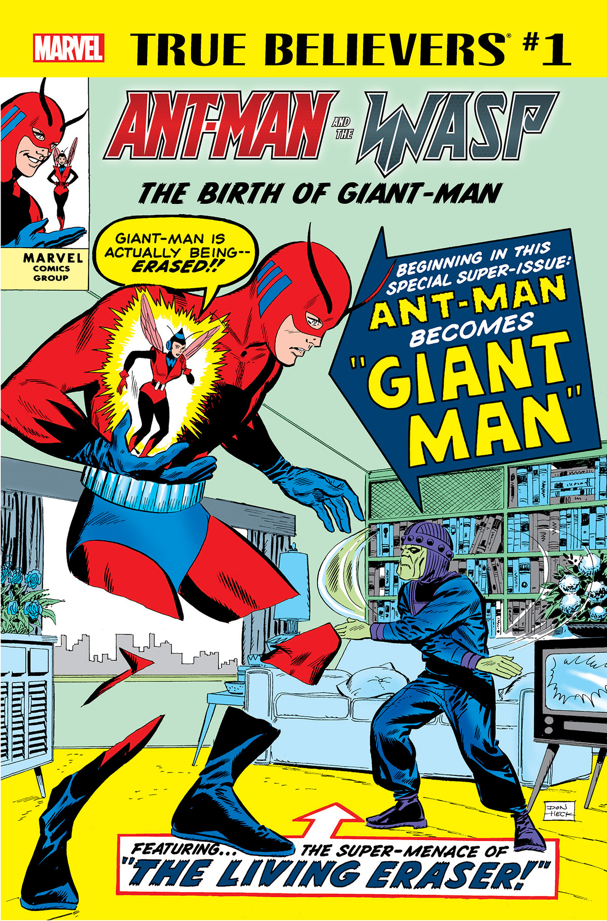 True Believers: Ant-Man and the Wasp - The Birth of Giant-Man Vol 1