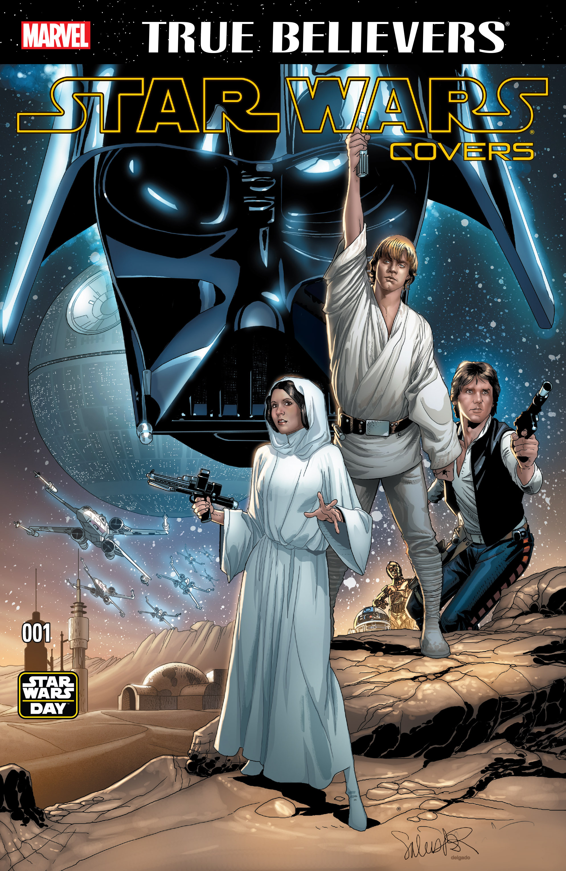True Believers: Star Wars Covers Vol 1 1
