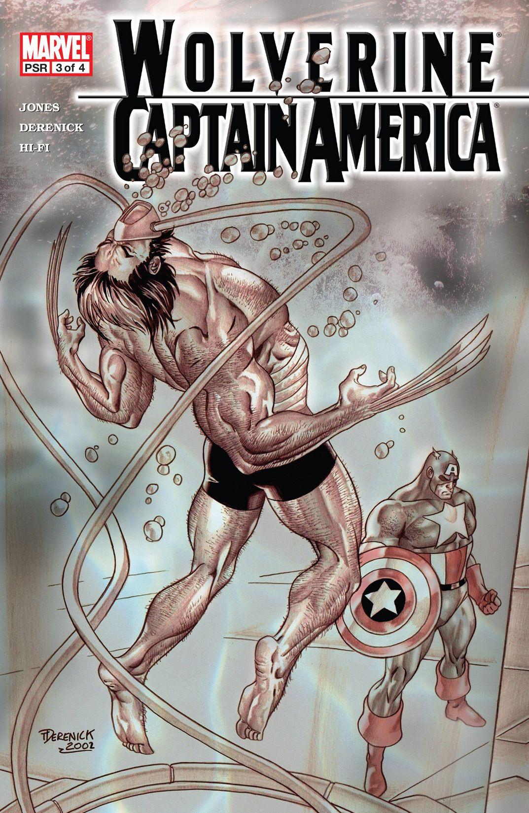 Wolverine/Captain America Vol 1 3