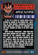 X-Men Vol 2 14 Trading card back