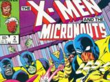 X-Men and the Micronauts Vol 1 2