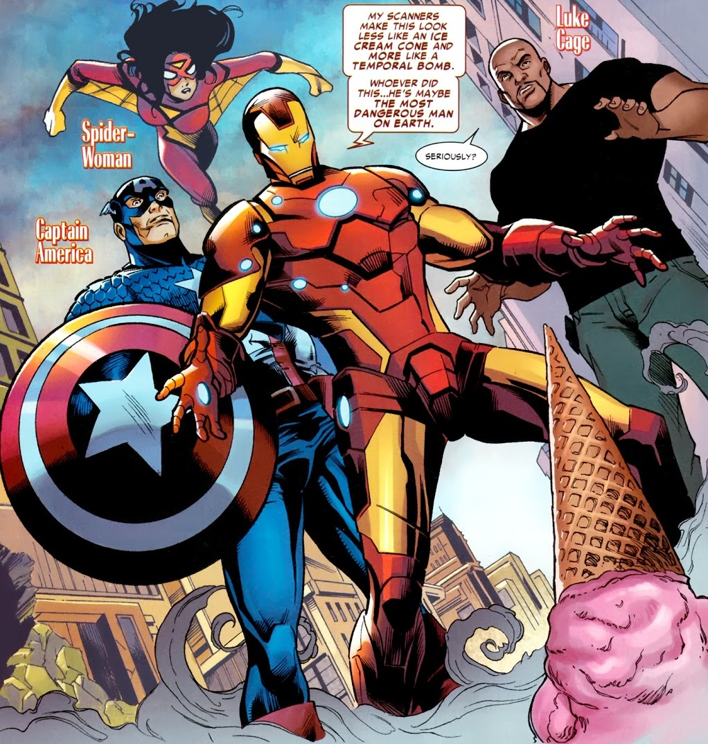 Avengers (Earth-TRN207) from Amazing Spider-Man Annual Vol 1 39 001.jpg