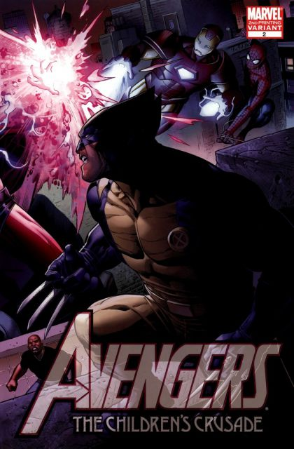 Avengers The Children's Crusade Vol 1 2 Second Printing Variant.jpg