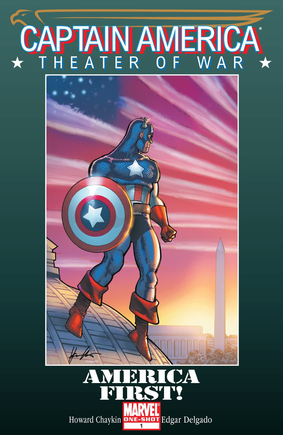 Captain America Theater of War: America First! Vol 1 1