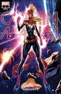 Captain Marvel Vol 10 1 JSC Exclusive Variant G