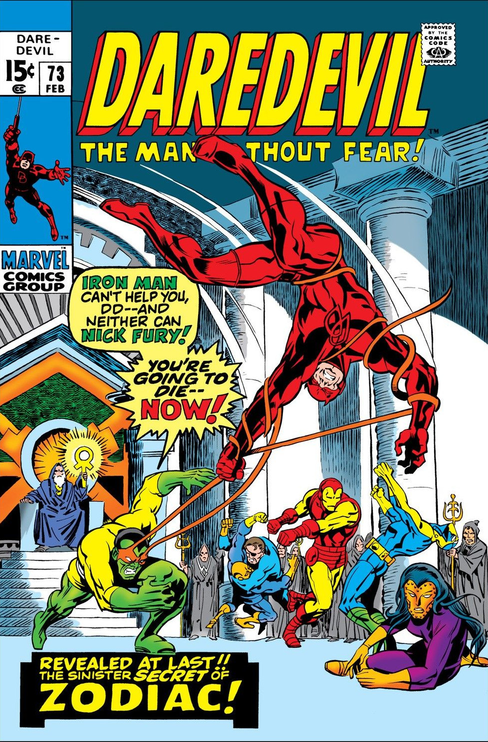 Daredevil Vol 1 73
