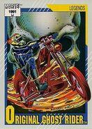 Johnathon Blaze (Earth-616) from Marvel Universe Cards Series II 0001