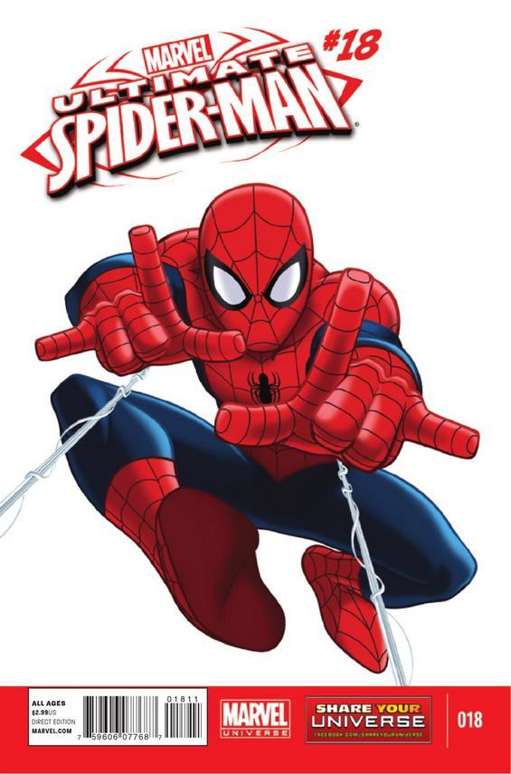 Marvel Universe: Ultimate Spider-Man Vol 1 18