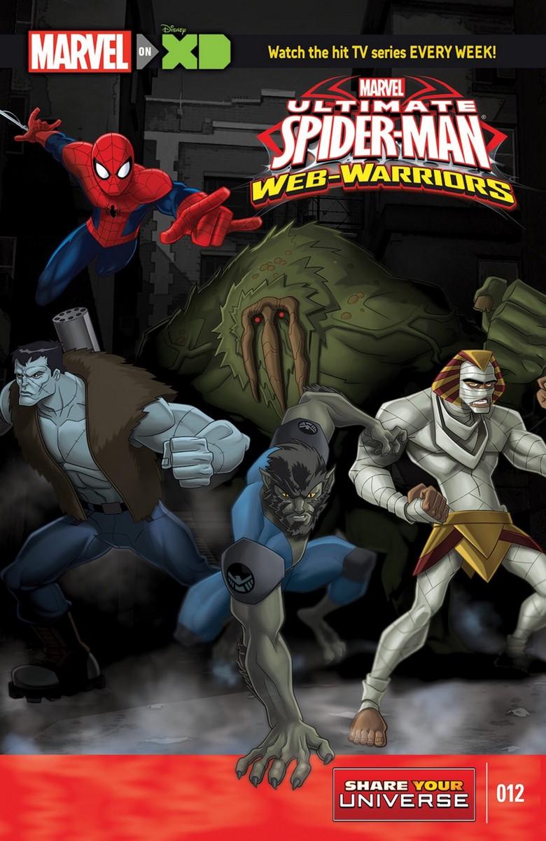 Marvel Universe Ultimate Spider-Man: Web Warriors Vol 1 12