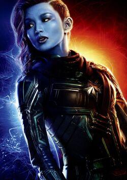 Minn-Erva (Earth-199999) from Captain Marvel (film) Poster.jpg