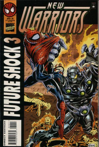 New Warriors Vol 1 70